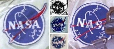 astronaut badges uniforms details - photo #35