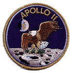 AB Emblem Apollo 11 patch