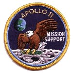 Lion Brothers mission speciality Apollo 11 patch