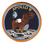 Lion Brothers prototype Apollo 11 patch