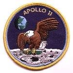 Lion Brothers speciality Apollo 11 patch