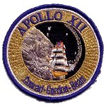 Ab Emblem Apollo 12 patch