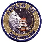 Lion Brothers hallmarked Apollo 12 patch