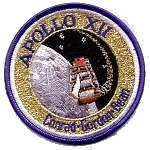 Lion Brothers plastic backed Apollo 12 patch