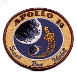 AB Emblem Apollo 14 patch