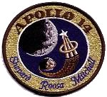 Lion Brothers plastic backed Apollo 14 patch