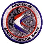 AB Emblem Apollo 15 patch