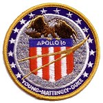 AB Emblem Apollo 16 patch