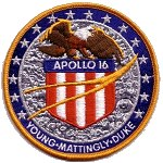 Lion Brothers Apollo 16 patch