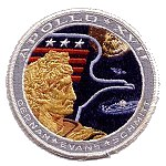 AB Emblem Apollo 17 patch