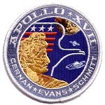 Lion Brothers Apollo 17 patch
