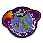 Lion Brothers purple background Apollo 7 patch