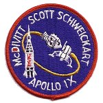 AB Emblem Apollo 9 patch