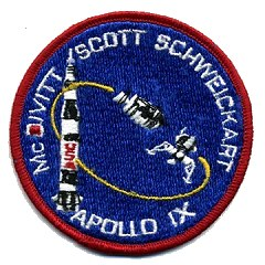 Apollo 9 crew patch