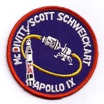 Lion Brothers Apollo 9 patch