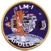 LM-1 APOLLO-5 replica patch