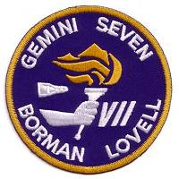 Gemini 7 Crew Souvenir Patch replica