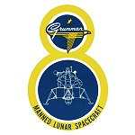 Grumman LM-8 decal