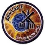 Lion Brothers plastic backed Skylab I patch