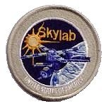 Lion Brothers plastic backed Skylab project patch
