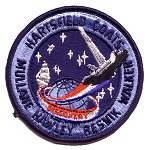Cape Kennedy Medals STS-41D patch