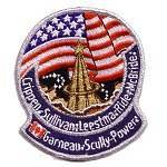 Cape Kennedy Medals STS-41G patch