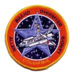 Cape Kennedy Medals STS-5 patch