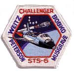 Cape Kennedy Medals STS-6 patch